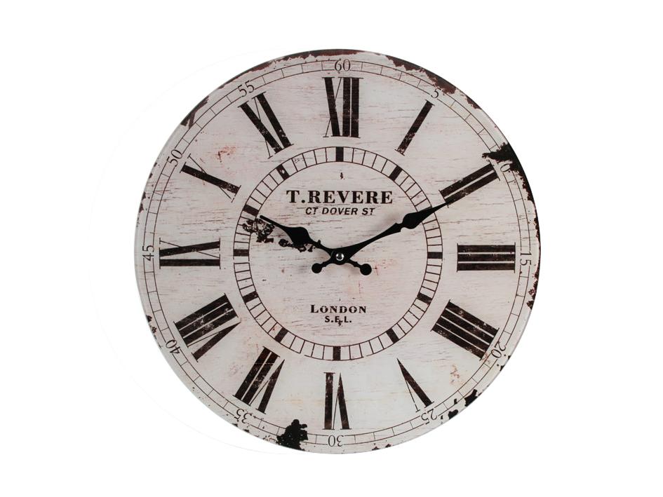 Glass Clock Revere London