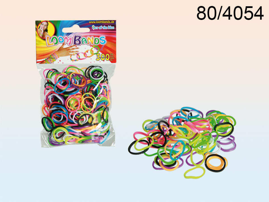 Loom Bands -<br> bracelet with<br>gumeczek 300 pcs