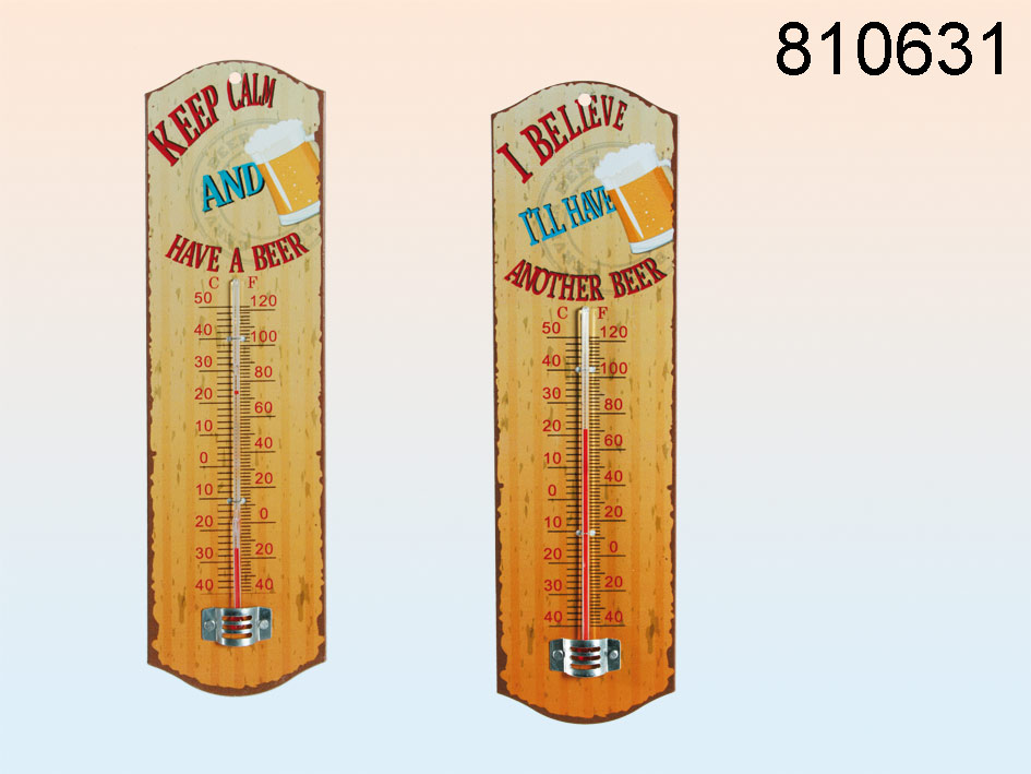 Bier Metall-Thermometer