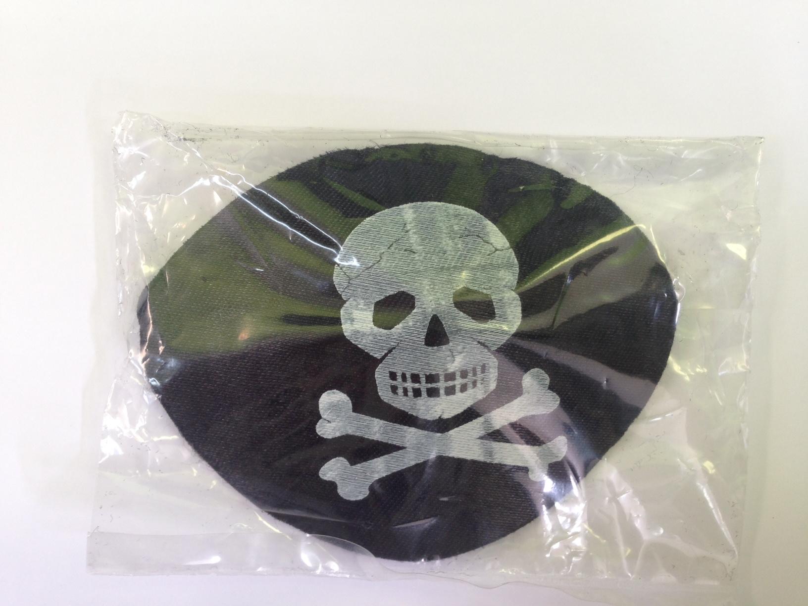 Opaska pirata na<br>oko - wyprzedaż