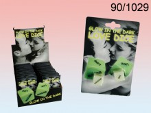 Glow-in-the-Dark Love Dice