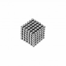 Magnetic balls - 216 silver balls (3mm)