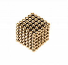 Magnetic balls - 216 gold balls (3mm)