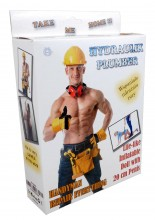 Inflatable doll Plumber (with 20 cm penis)