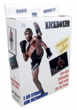 Inflatable doll Kickboxer (with 20 cm penis)