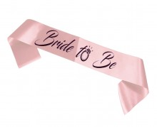 Bachelorette party sash - Bride to be