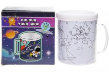 Color your mug - space