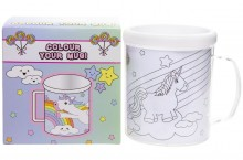 Color your mug - unicorn