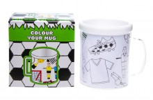 Color your mug - football