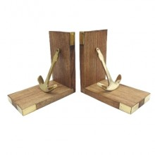 Bookends - brass anchors (2 pieces)