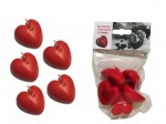 Floating Scented Heart Candle - 5 pieces