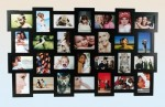 XXL Picture Frame for 28 Photos - Black