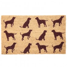 Wiper dog shape - coconut fiber