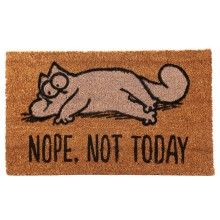 Simon's Cat Doormat - Nope, Not Today