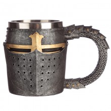 Medieval knight helmet mug - Decorative gadget
