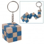 Snake Cube on a Keychain