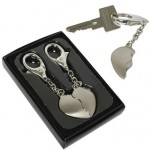 Broken Heart Keychain