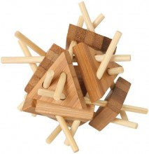 Bamboo Puzzle Triangle