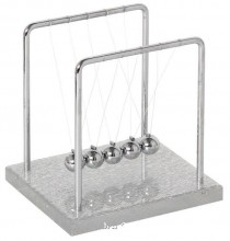 Newton's Cradle with Acrylic Base (14 cm)