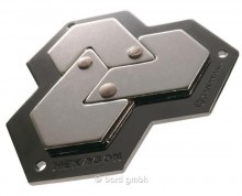 Hanayama Huzzle Cast Hexagon - level 4/6 puzzle