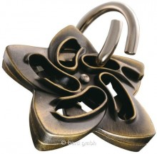 Hanayama Huzzle Cast Helix - level 5/6 puzzle