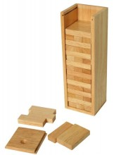 Stacking Tower - with a Wooden Box