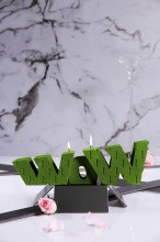 XXL WoW Candle - Pearl Lime