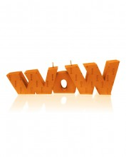 XXL WoW Candle - Pearl Orange