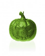 Halloween Pumpkin Candle - Pearl Lime