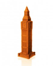 XXL Big Ben Candle - Pearl Orange