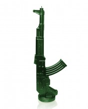 XXL Kalashnikov Candle - Metallic Green