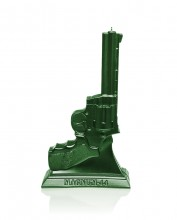 XXL .44 Magnum Candle - Metallic Green