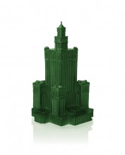 XXL Palace of Culture Candle - Green Metallic