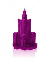 XXL Palace of Culture Candle - Pink Metallic