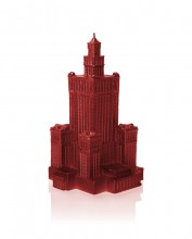 XXL Palace of Culture Candle - Red Metallic