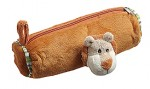 Plush Pencil Case with a Puppet