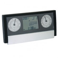 Clock with Weather Station