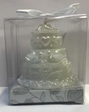 Wedding Cake Candle