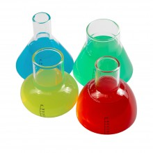 Chemistry Shot Glasses 4 Pieces (100% Glass)