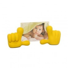 Baby Hands Picture Frame - Yellow