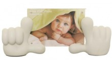Baby Hands Picture Frame - White
