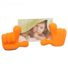 Baby Hands Picture Frame - Orange