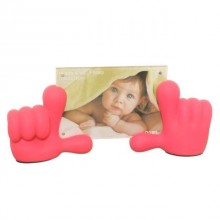Baby Hands Picture Frame - Pink