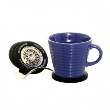 Metal Tire Coasters (4 items)