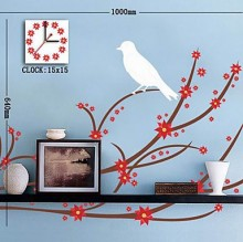 DIY Wall Clock with Sticker