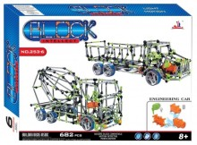 Intellect Block - XXL Building Toy (682 pieces)