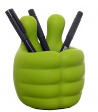 Baby Hands Pen Holder (Green)