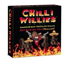 Chili penis chocolates