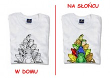 Colour Changing T-shirt - Frogs