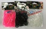 Loom Bands - Rubber Bracelet Set (200 rubbers)